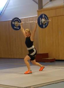 ØVR 2015 Celine Mariell i støt-