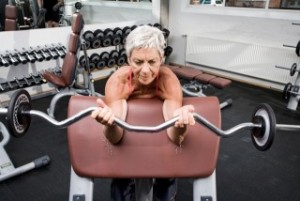 Inn med vekter – de gamle skal også svette !