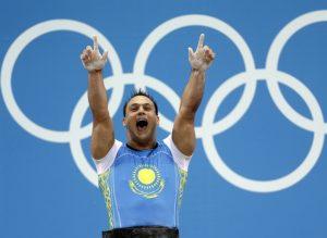 Ilya Ilyin brukte dop i OL 2012